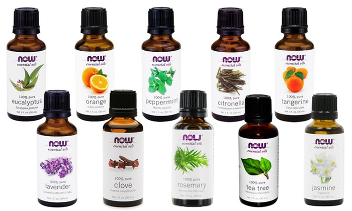 Essential Oils and Topical Oils